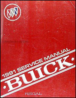 free car manuals to download 1991 buick regal auto manual 1991 buick regal repair shop manual original