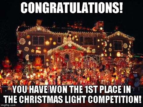Christmas Lights Meme - crazy christmas lights imgflip