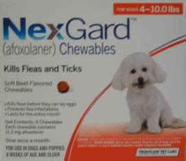 nexgard for dogs 4 10 lbs nexgard a new fda approved chewable to combat fleas and ticks on your