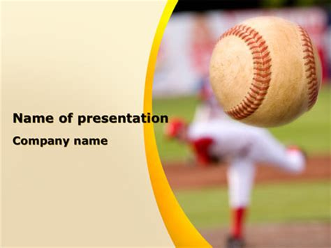 free baseball powerpoint template baseball powerpoint templates and backgrounds for your