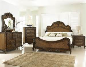 rochelle chestnut panel bedroom set from fairmont designs