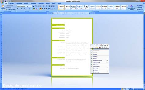 Ausformulierter Lebenslauf Beispiel Schuler Muster Lebenslauf F 252 R Word Und Open Office Designlebenslauf De