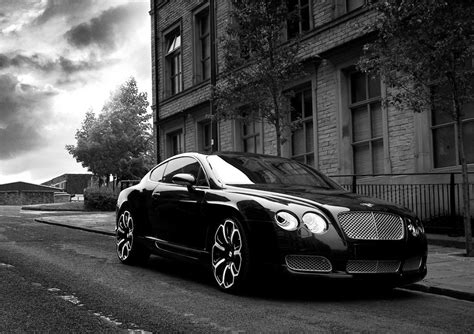 bentley black and bentley gts black edition car pictures images