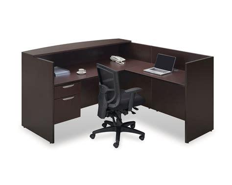 Reception Station Desk Classic Gallery Reception Desk With Return