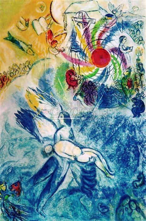 la creacion del hombre de chagall cuadro moderno