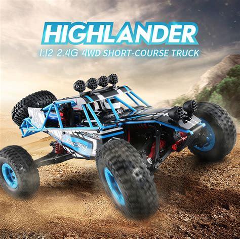 Terlaris Jjrc Q39 1 12 2 4g 4wd 40km H Highlandedr Course Truck jjrc q39 1 12 4wd course truck rc car rtr 2 4ghz