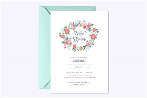 11 baby shower invitation templates download