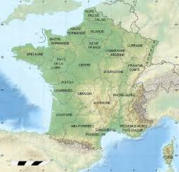 Map Of France Regions by France Map By Region