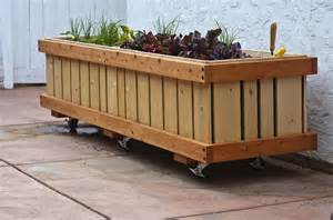 build a wooden planter box how to make wooden planter