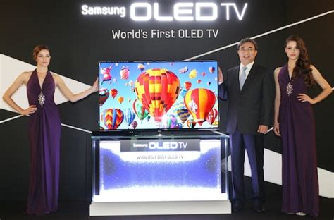Samsung Oled Tv Es9500 samsung shows production 55 inch oled hdtvs at the