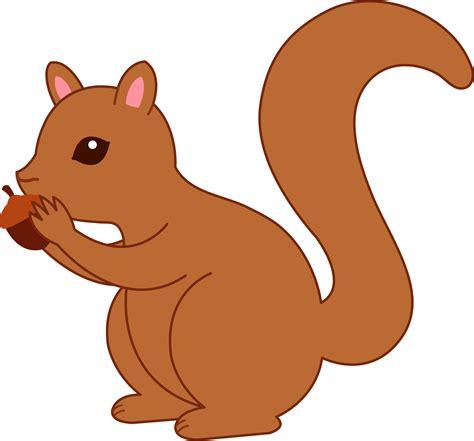 squirrel clip squirrel acorn free clip