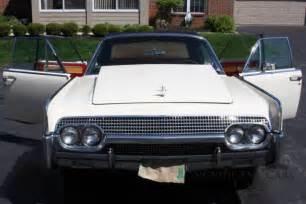 60s lincoln continental 1961 lincoln continental convertible iconic 60s