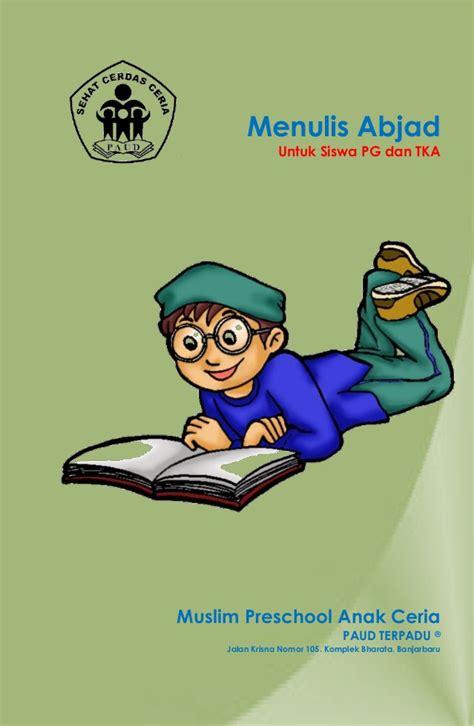 Buku Anak Paud Dan Tk Belajar Menulis Abjad Huruf menulis abjad untuk siswa pg dan tk a digunakan dalam lingkungan sen