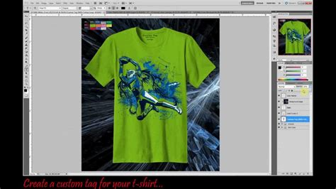 design a shirt in photoshop professional t shirt mock up template using photoshop cs5