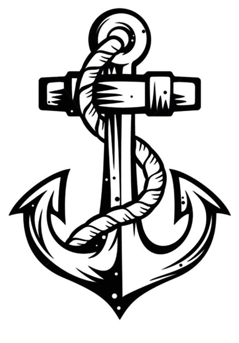 anchor coloring pages images reverse search