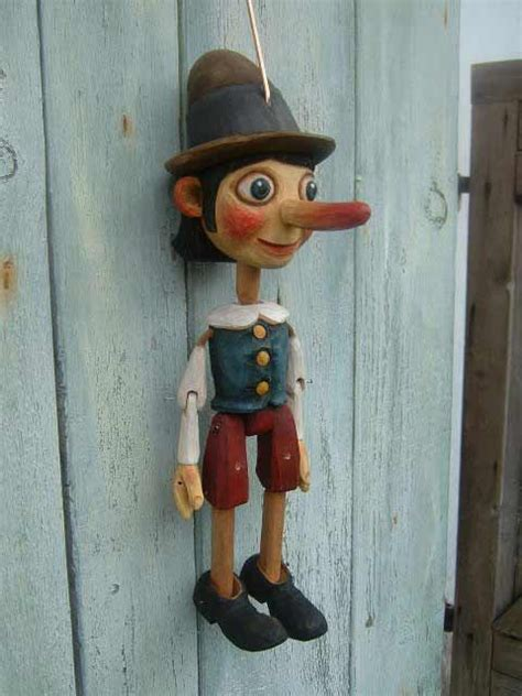 Handmade Marionettes - pinocchio marionette puppet each doll marionette is a