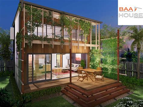 backyard bedroom 2 bedroom granny flat mezzanine level baahouse designs pinterest granny flat