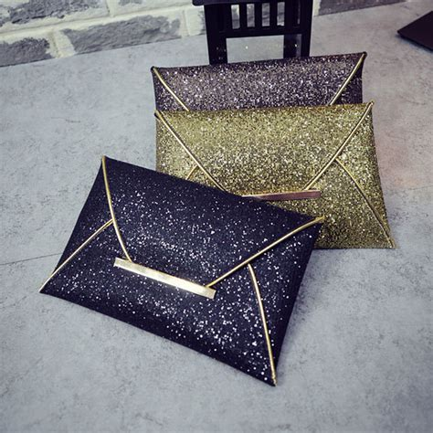 Cluth Fashion 1 fashion envelope clutch bag solid color leather