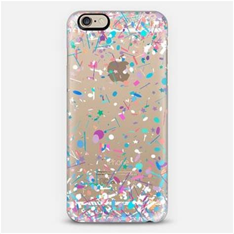 Iphone 6 Iphone 6s Silikon Saturate Clear Eye Iphone6 girly confetti explosion transparent from casetify cases