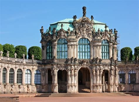 European Home Plans the zwinger is a palace in dresden eastern germany built