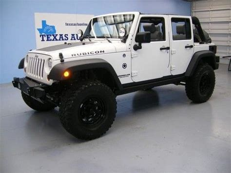 2009 Jeep Grand Lifted Purchase Used We Finance 2009 Jeep Wrangler Unlimited
