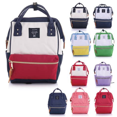 Pack Anello japan anello original backpack rucksack unisex canvas quality school bag cus big size to