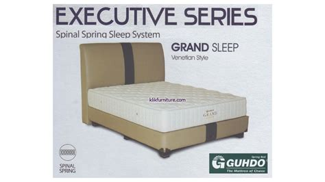 Guhdo Grand Sleep Style 160x200 Springbed Set grand sleep venetian style guhdo springbed