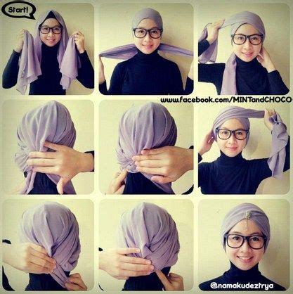tutorial hijab turban bahan kaos tutorial hijab turban modern google search hiijab