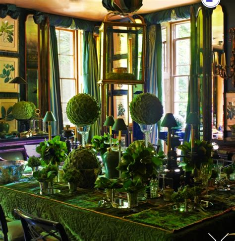 Green Themed Dining Room 378 Best Town And Country Homes Images On