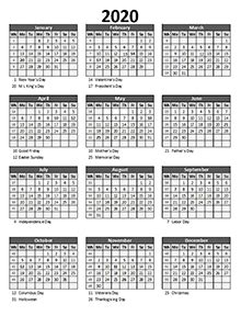 editable  yearly excel scheduling calendar  printable templates