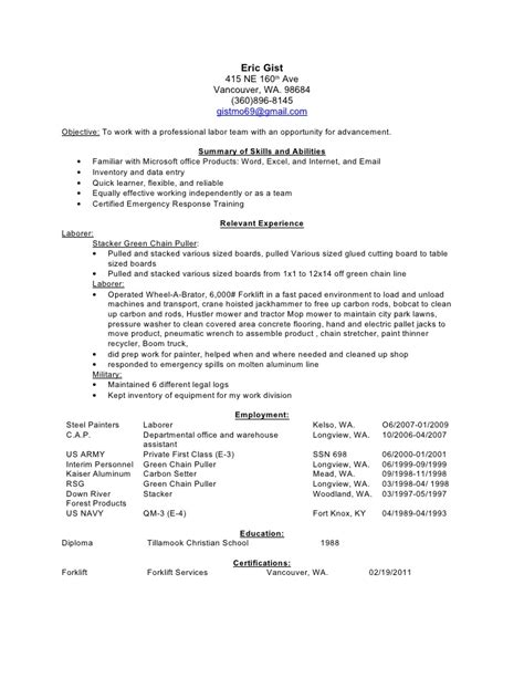 Painter Resume by Sle Resume For Painter Aircraft Painter Resume Free
