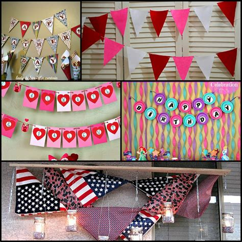 How To Make Paper Banners - scrapbook paper banner archives the curtain