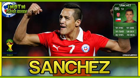 alexis sanchez fifa 14 fifa 14 ut tott sanchez simotm world cup ultimate