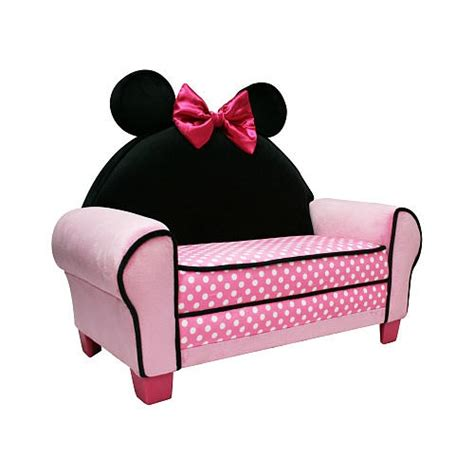 Minnie Mouse Toddler Chair by Disney Minnie Mouse Toddler Sofa Chair And Ottoman Set