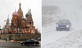 Image result for Moscow Russia weather