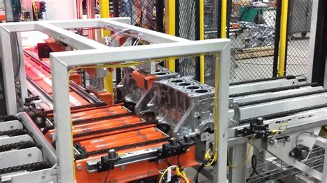 cylinder engine block lift transfer youtube