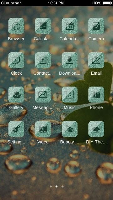 c launcher themes apk free download for android golden drops c launcher theme free android theme download