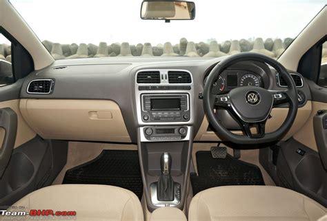 vento volkswagen interior 2015 volkswagen vento facelift a look team bhp