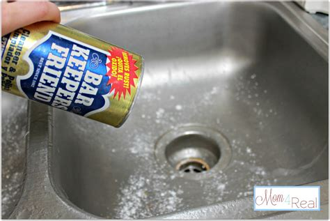 Kitchen Sink Cleaner how to clean your stainless steel kitchen sink 4 real