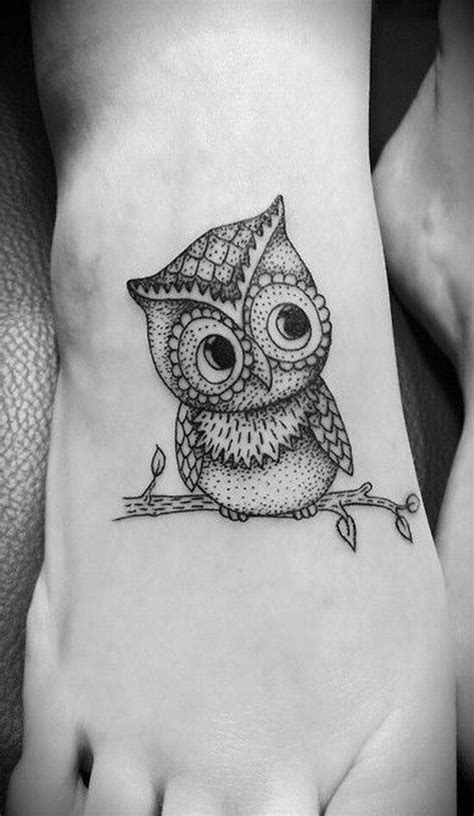 owl tattoo designs for foot 37 mysterious owl tattoo designs