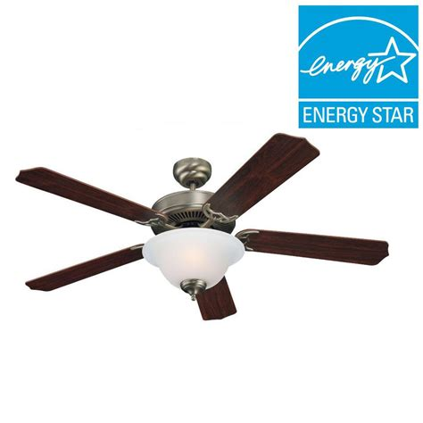 antique nickel ceiling fan sea gull lighting quality max plus 52 in antique brushed