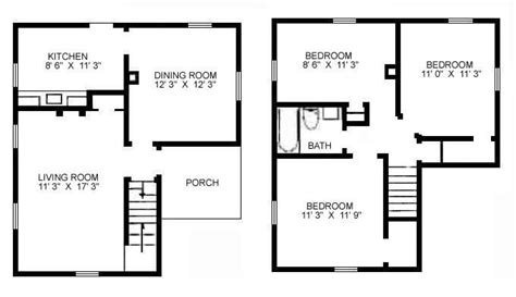 3 room floor plan 3 bedroom floor plan buybrinkhomes