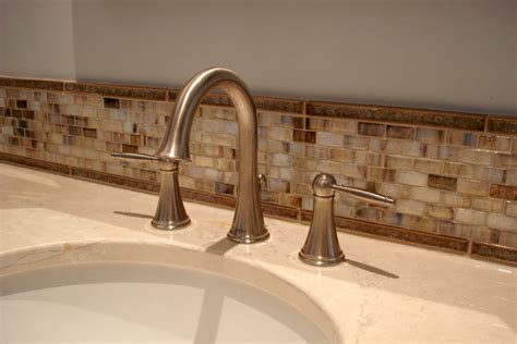 bathroom mosaic backsplash 30 ideas of using glass mosaic tile for bathroom backsplash