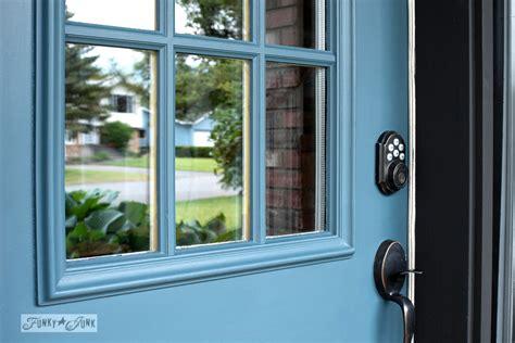 Industrial Front Door Redo With Painting Tipsfunky Junk Repainting A Front Door