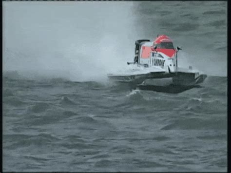 speedboat gif flip boat gif find share on giphy