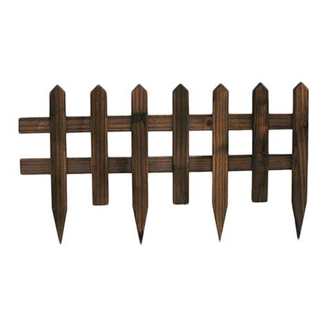 steccato da giardino steccato in legno 84 x 50 cm arredo giardino