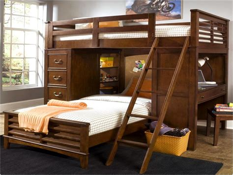 twin over full bunk bed with desk amazing twin over full bunk bed with desk badotcom com