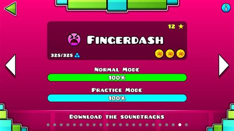 geometry dash full version all coins geometry dash fingerdash 100 complete all coins