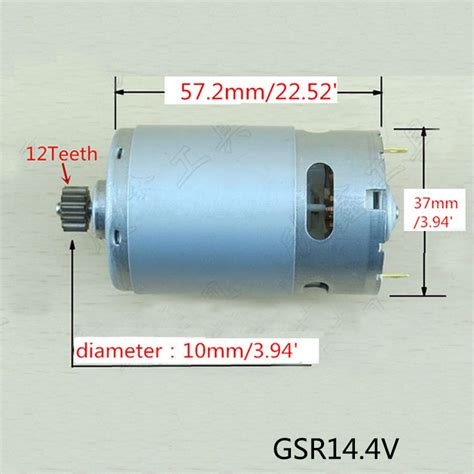 Bosch Gsr 9 6 Dc Motor Original ᗑ high quality 12 teeth replacement replacement dc