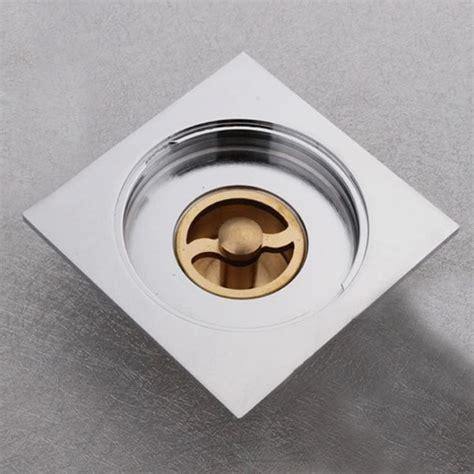 bathroom floor drain smells copper square floor drain bathroom anti odor cover alex nld